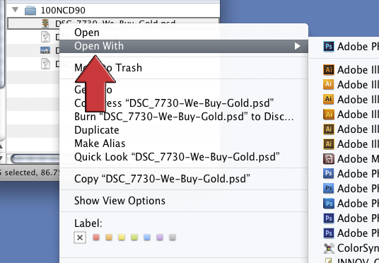 How To Set File Associations on Mac and PC